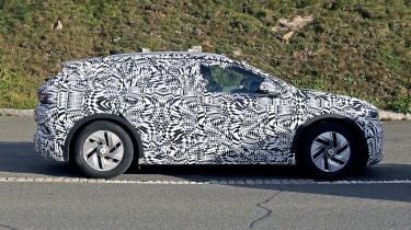 2021 Volkswagen ID.4 SUV  - flat side on view