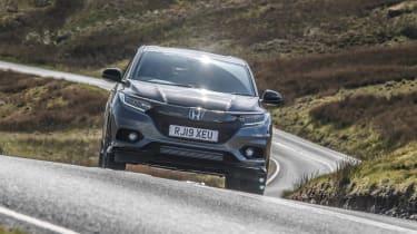 Honda HR-V SUV front driving