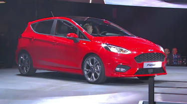"Ford describes the new Fiesta as the ""world's most technologically advanced small car"""