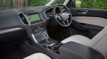 The Galaxy will feel familiar to anyone who's driven one of Ford's hatchback or saloon models