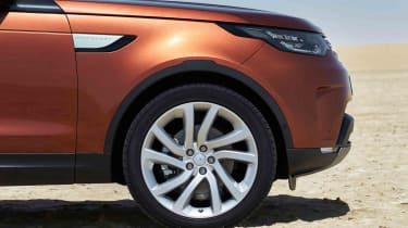All models get alloy wheels as standard, ranging from 19 to 21-inches in diameter