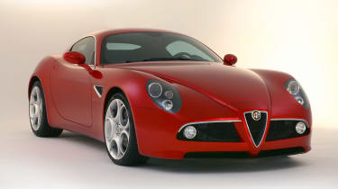 The Alfa Romeo 8C Competizione was the first bone-fide post war supercar to wear the name, thanks in part to Ferrari input