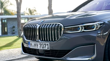 BMW 7 Series saloon grille
