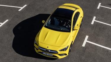 Mercedes-AMG CLA 35 - above static