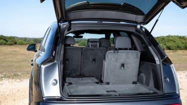 Audi Q7 SUV boot six seats