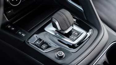 Jaguar E-Pace SUV review gear selector
