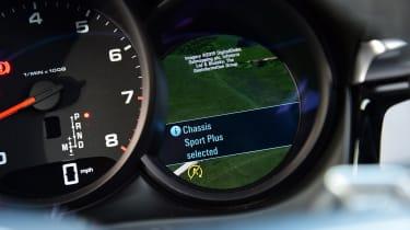 2020 Porsche Macan - dials detail