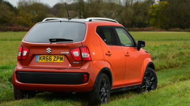 The entry-level engine is an 89bhp 1.2-litre Dualjet that gets the Ignis from 0-62mph in 12.2 seconds