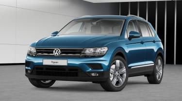 Volkswagen Tiguan Match front