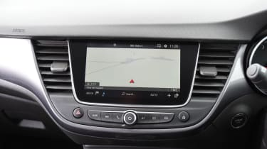 The sat nav is simple to program and easy to follow - but it costs extra, even on top-spec cars