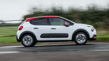 Petrol engines suit the C3 well, particularly the 1.2-litre