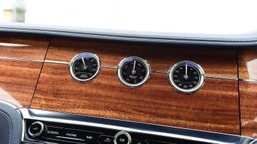Bentley Continental GT fascia