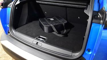 Peugeot e-2008 SUV boot 2