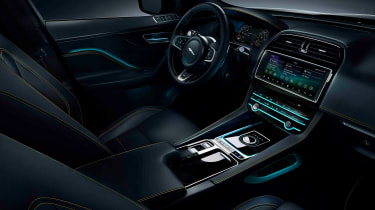 Jaguar F-Pace 300 Sport Edition interior