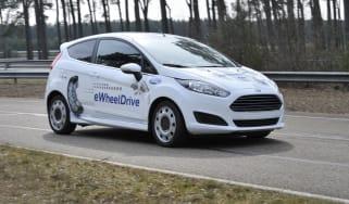 Ford Fiesta eWheelDrive 2013 front tracking