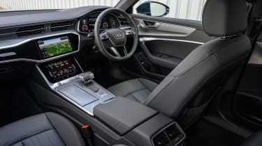 Audi A6 Allroad quattro estate dashboard
