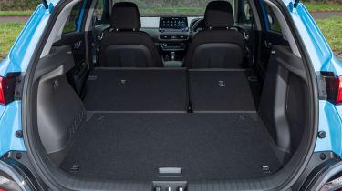 Hyundai Kona SUV boot