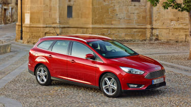 ST-Line trim levels add a sporty feel, while Titanium versions offer the most luxury features