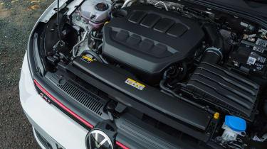 Volkswagen Golf GTI hatchback engine