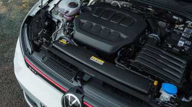 Volkswagen Golf GTI hatchback engine