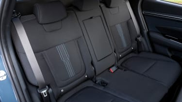 Hyundai Tucson SUV back seats