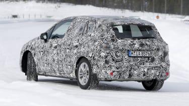 BMW 2 Series Active Tourer in development - rear/side view
