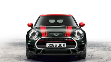 JCW is short for John Cooper Works - evocative of the original Mini Cooper