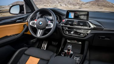 BMW X3 M Competition SUV dashboard