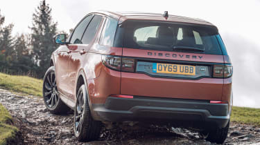 Land Rover Discovery Sport rear 3/4 off-road