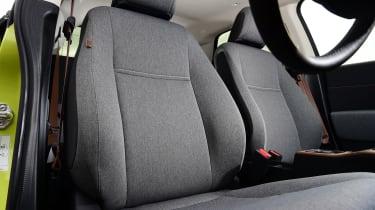 Honda e hatchback front seats