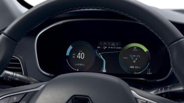 2020 Renault Megane E-Tech - digital dial cluster