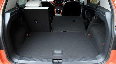 Volkswagen T-Cross SUV boot