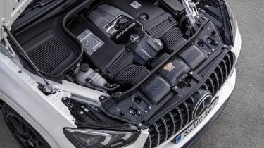 2020 Mercedes-AMG GLE 63 S Coupe engine