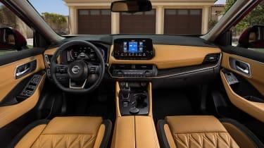 Nissan Rogue (X-Trail) interior