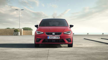2021 SEAT Ibiza FR Desire Red - front