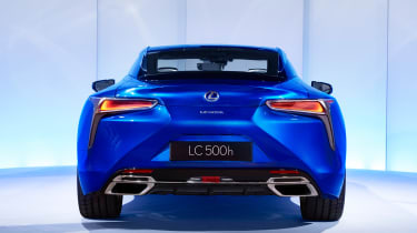 ...and is powered by a 5.0-litre V8 petrol engine