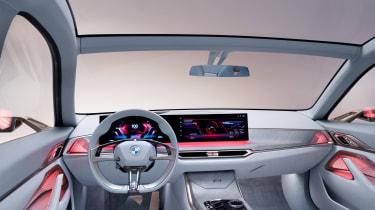 2021 BMW Concept i4 - interior sport mode