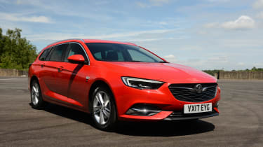 The Vauxhall Insignia Sport Tourer is the Estate version of the Insignia Grand Sport