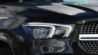 Mercedes GLE SUV headlights