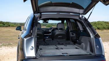 Audi Q7 SUV boot two seats