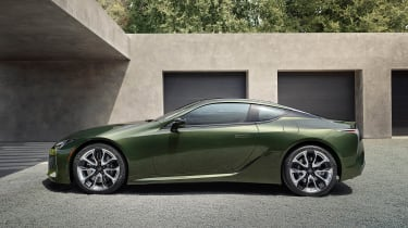 Lexus LC Limited Edition side view