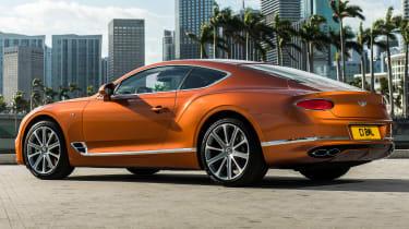 Bentley Continental GT V8 rear quarter
