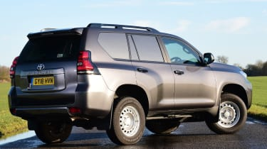 Toyota Land Cruiser Utility rear static