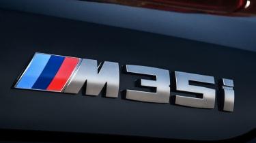2019 BMW X2 M35i badge