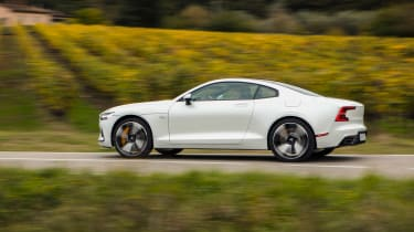 Polestar 1 coupe side panning