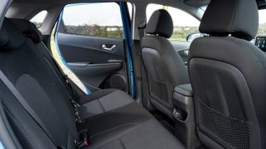 Hyundai Kona SUV rear seats