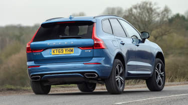 Volvo XC60 SUV rear cornering
