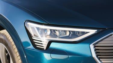 Audi e-tron SUV headlights