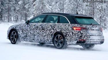 Updated 2019 Audi Avant rear view