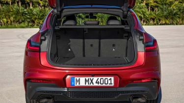 BMW X4 boot interior shot